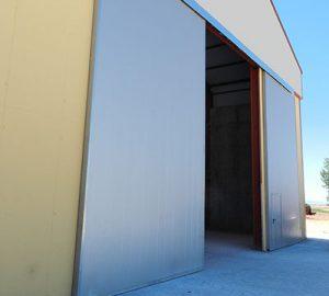 precio puerta corredera nave industrial
